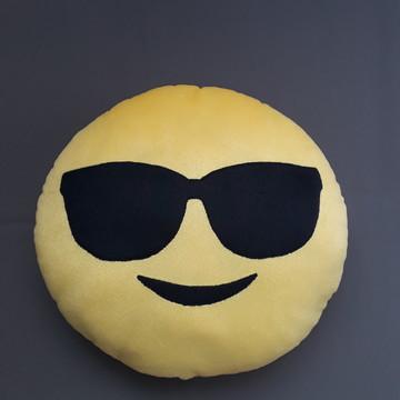Almofadas Criativas Emoji Oculos escuro Pelúcia