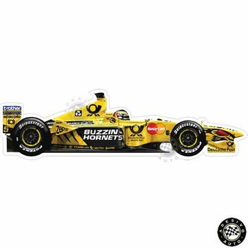 Adesivo Heinz-harald Frentzen Jordan Ej10 2000 Formula 1