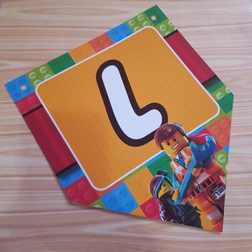 Bandeirola Lego