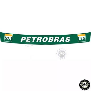 Adesivo Petrobras Para Viseira De Capacete pronta entrega