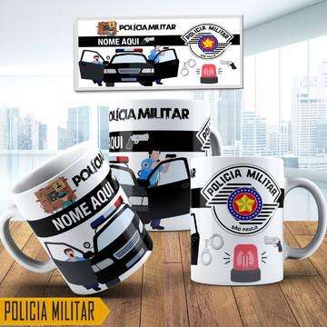Canecas Personalizadas Policia Militar De Sao Paulo