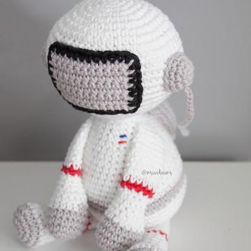 Astronauta amigurumi | Tamanho G | crocchê