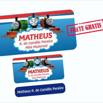 Etiquetas Escolares Thomas e Seus Amigos 130un FRETE GRÁTIS