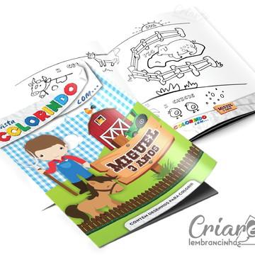 Revista para Colorir - Fazendinha