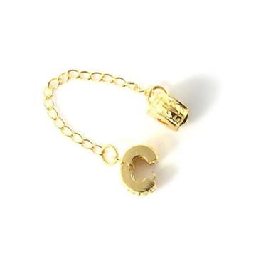 Trava pega ladrao compatível com todas as pulseiras Dourada