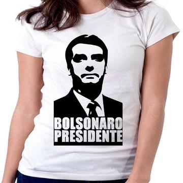 blusa feminina baby look Bolsonaro acabou a palhaçada