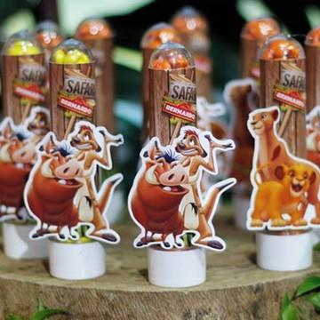 Tubete Personalizado Festa Safari