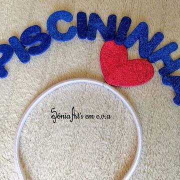 Tiara de Carnaval - Piscininha Amor