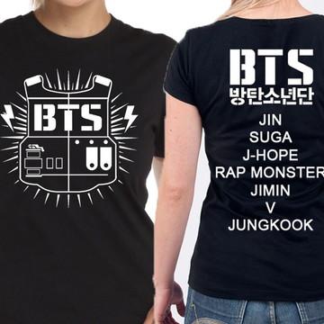 a9ae727c6d Camiseta Bangtan Boys Bts Integrantes