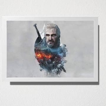 Quadro Geralt de Rívia