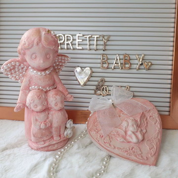 Anjo da Guarda Baby e Pingente