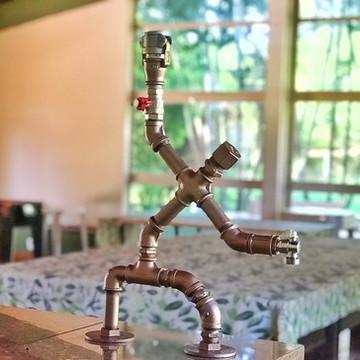 Dispenser de garrafas   Destilados - Decoração Industrial