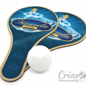 Kit Raquete de Ping Pong - Cinderela