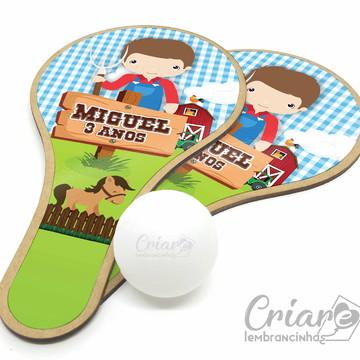 12ee2422a Kit Raquete de Ping Pong - Fazendinha