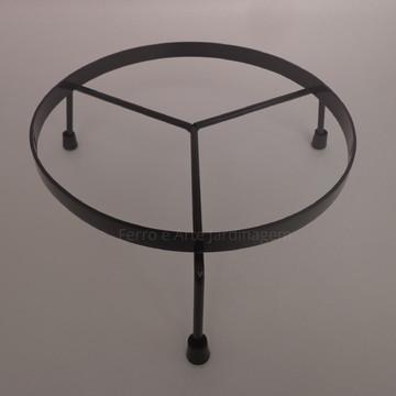 Suporte Para Vaso 25 cm chão Casa Jardim