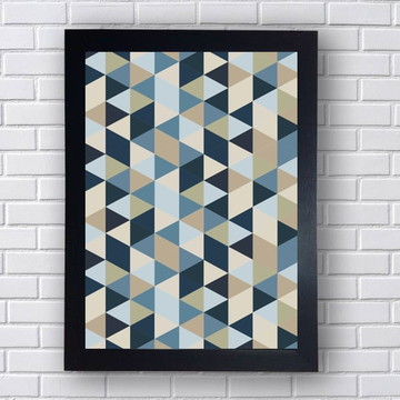Quadro Poster Geometria