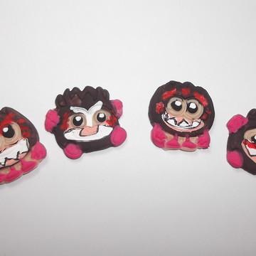 Mini apliques coco Kakamora Biscuit