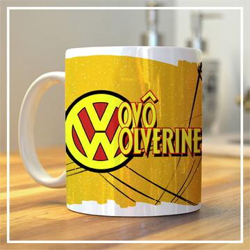 Caneca Temática - Vovô Wolverine.