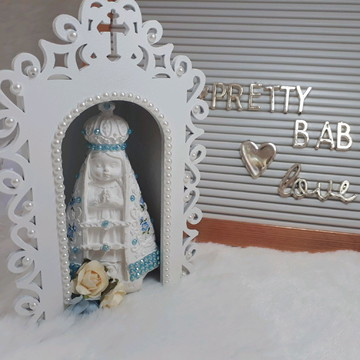 Oratório com Nossa Senhora Baby