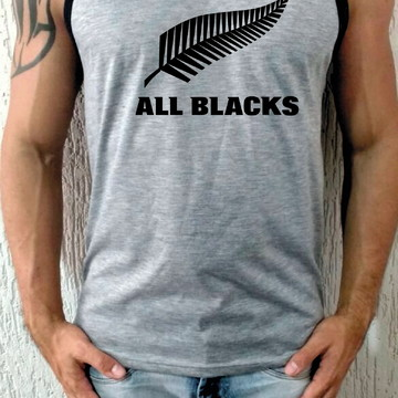 Camiseta Regata All Blacks