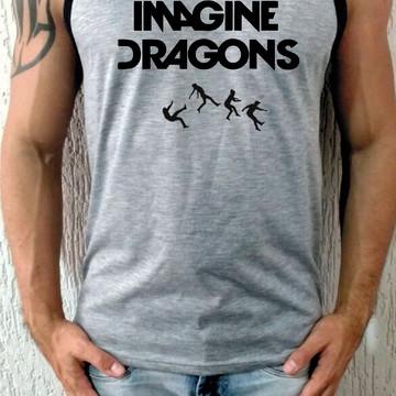 Camiseta Regata Imagine Dragons