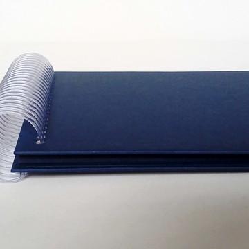 Album Scrap 14 x 19 Azul Marinho
