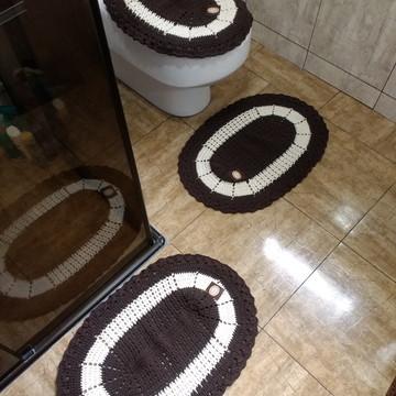 Jogo de banheiro 3 pecas