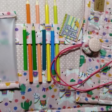 Estojo de Rolo para 72 lápis