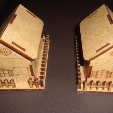 Casinhas Mini em MDF