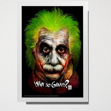 Quadro Why so Genius?