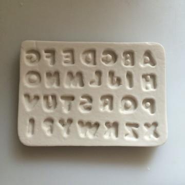 Molde Mini Alfabetos 0021