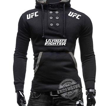 Blusa de moletom Slim Fit com elastano UFC