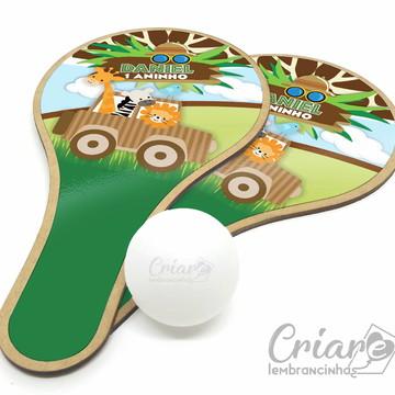 Kit Raquete de Ping Pong - Safári