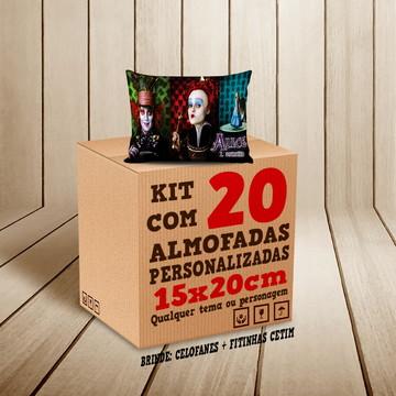 Kit 20 Almofadas Personalizadas 15x20cm