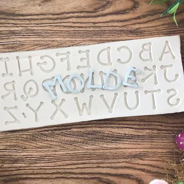 Molde Alfabeto 1244