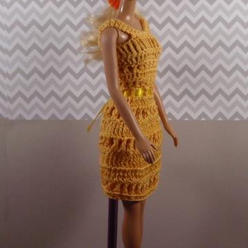 Vestido para Boneca Barbie e Susi
