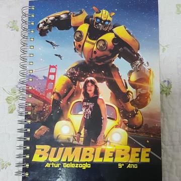 Caderno Personalizado - Bumblebee - transformers