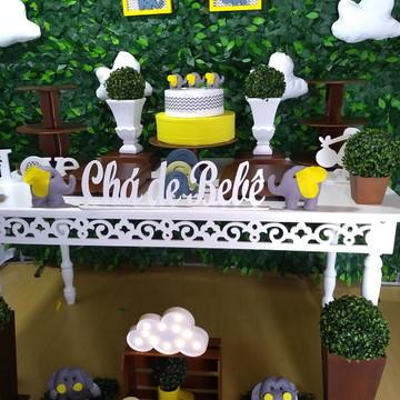 Locaçao decoração elefantinho 3/ Chá de bebe ou festas