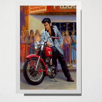 Quadro Elvis moto
