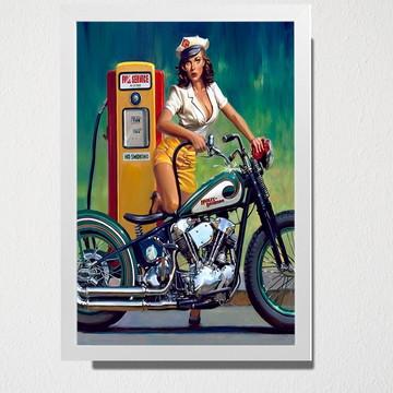 Quadro Posto de gasolina