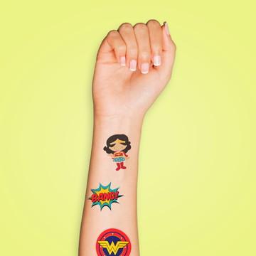 Tatuagem Temporária Mulher Maravilha
