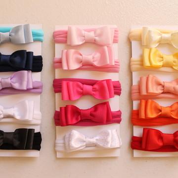 Faixas de meia de seda para bebê