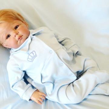 Saída Maternidade Majestade Azul Bebê