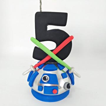 Vela Star Wars - R2-D2