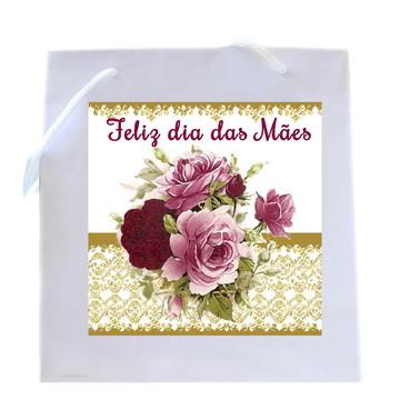Sacolinha Personalizada - Feliz Dia Das Mães, Presente Mãe