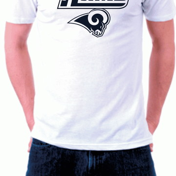 1393882e2 Camiseta Los Angeles Rams Branca Futebol Americano Nfl