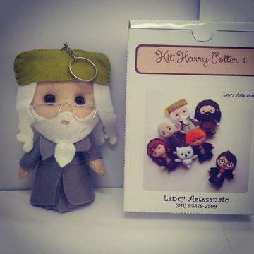 Dumbledore - Chaveiro e Marcador de página