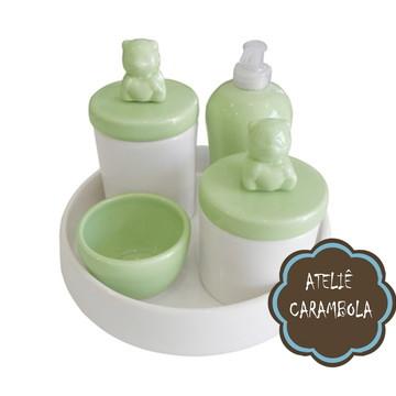 Kit higiene verde bebe