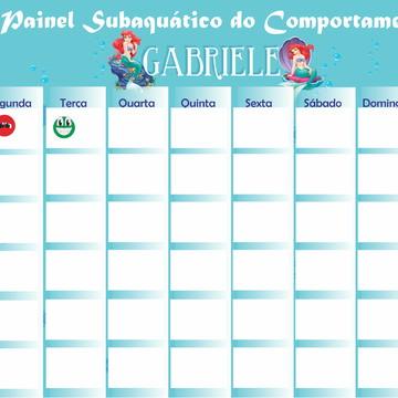 Painel de incentivo Ariel