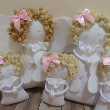 Anjinhos decorativos .Decoraçao batizado
